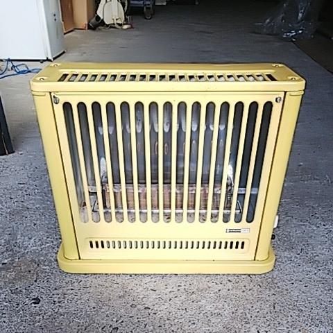 かわいい置物 HITACHI 日立熱器具 LPガス用 ガスストーブ GVB-30 プロパン用 レトロ アンティーク 昭和レトロ 味でてますよ~