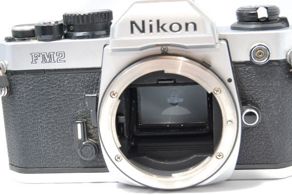 【極美品 】完動品!露出計も動作確認 ニコン Nikon FM2 ※安心の6ヶ月保証 #KI-02F19-13_画像7