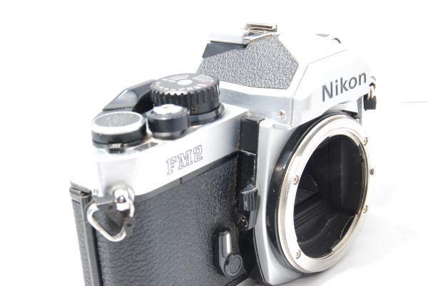 【極美品 】完動品!露出計も動作確認 ニコン Nikon FM2 ※安心の6ヶ月保証 #KI-02F19-13_画像6