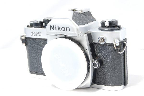 【極美品 】完動品!露出計も動作確認 ニコン Nikon FM2 ※安心の6ヶ月保証 #KI-02F19-13_画像2