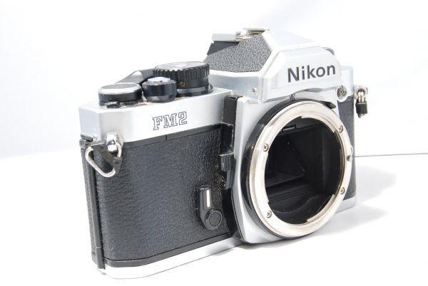 【極美品 】完動品!露出計も動作確認 ニコン Nikon FM2 ※安心の6ヶ月保証 #KI-02F19-13
