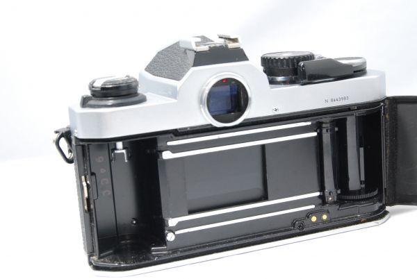 【極美品 】完動品!露出計も動作確認 ニコン Nikon FM2 ※安心の6ヶ月保証 #KI-02F19-13_画像4