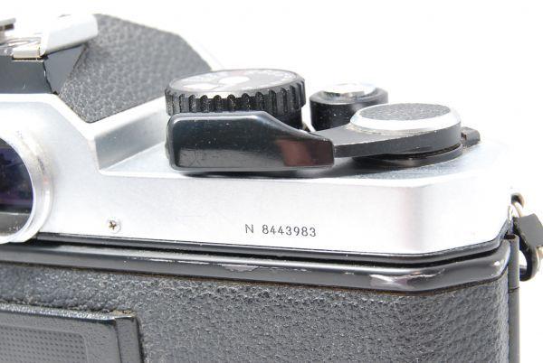 【極美品 】完動品!露出計も動作確認 ニコン Nikon FM2 ※安心の6ヶ月保証 #KI-02F19-13_画像5