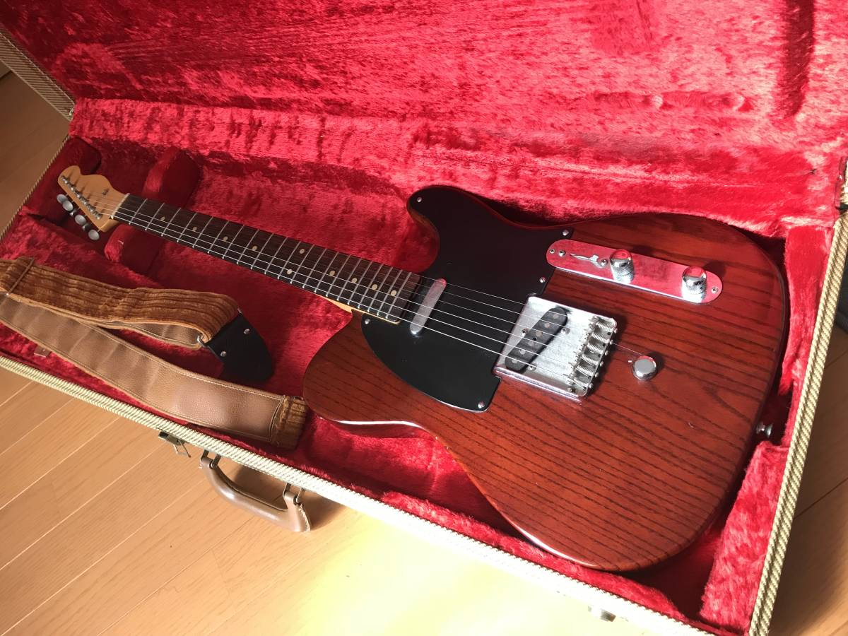 FENDER USA Telecaster with B-Bender + FCGR CUSTOM NECK JIMMY PAGE BROWN COLOR