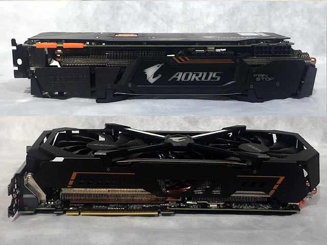 Gigabyte AORUS GeForce GTX1080Ti 11GB 【効率冷却2.5スロット】 GV-N108TAORUS-11GD_画像3