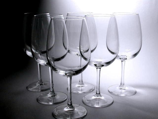 【石塚硝子】 ワイングラス6客セット  ボルドーL