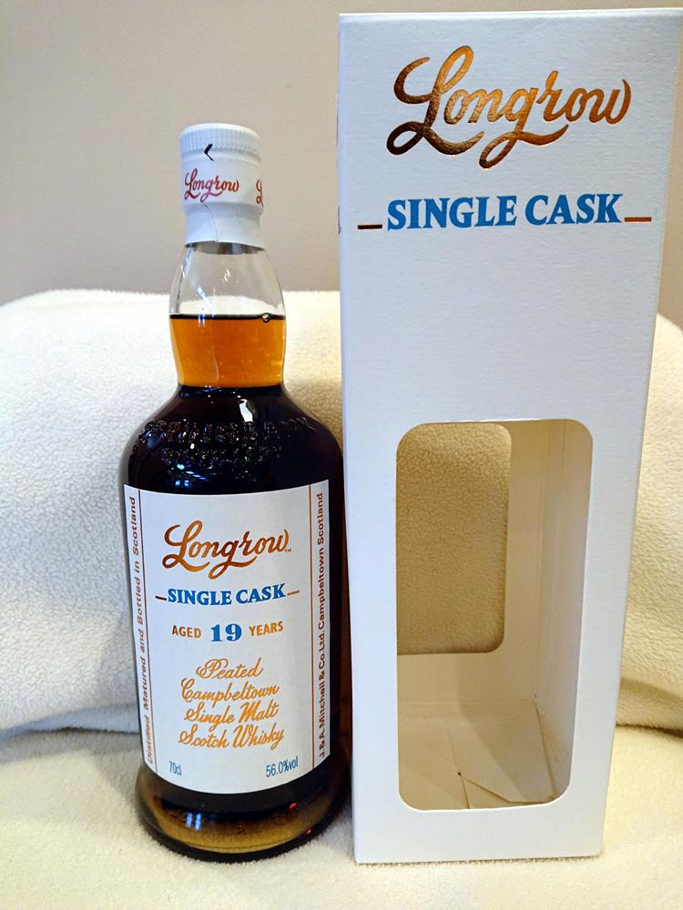 日本限定 ロングロウ 1998 19年 シングルカスク 56.0% 送料込み