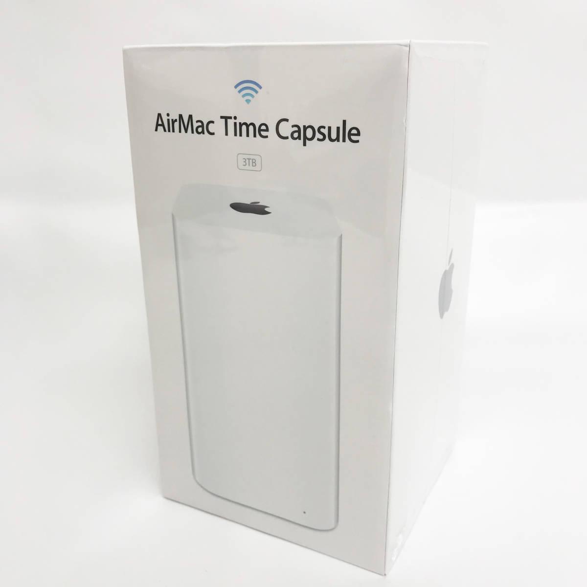 新品未開封品 Apple AirMac Time Capsule 3TB ME182J/A 生産終了品 メーカー保証付
