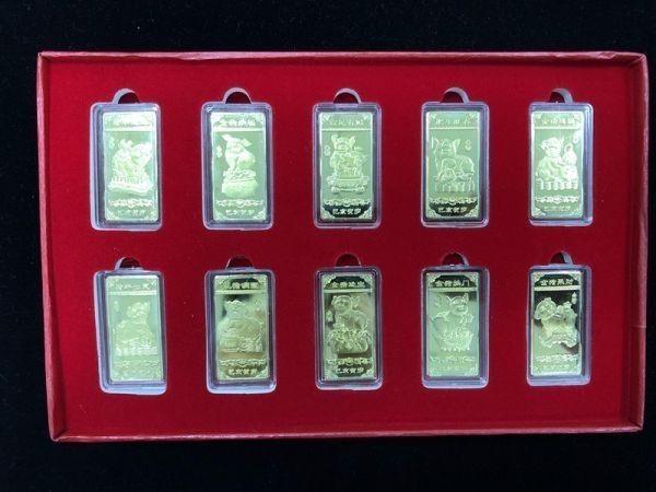 中国パンダ 金貨 貴重品  ケース入り コイン 豚年記念品 珍藏 102304_画像3
