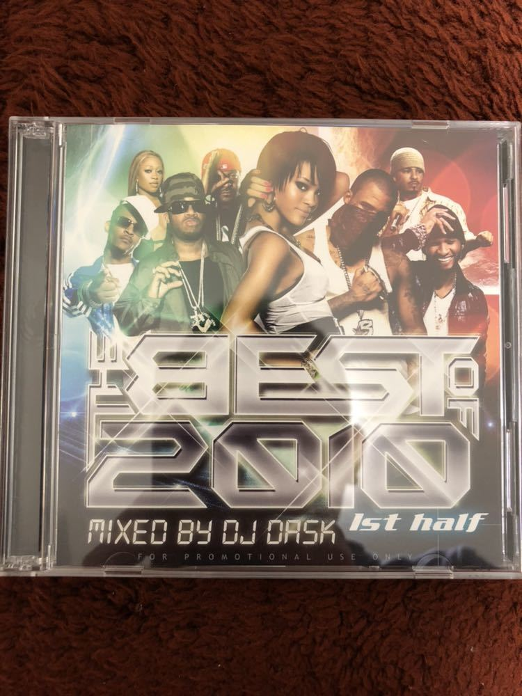THE Best of 2010 1ST HALF 2枚組 DJ DASK ダスク