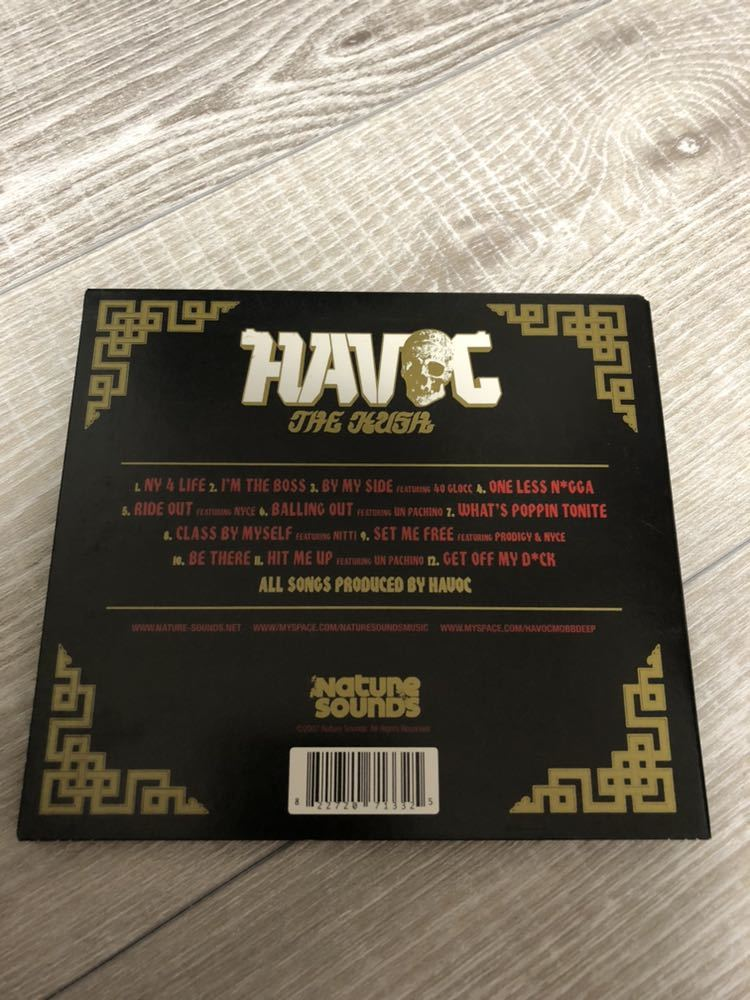 廃盤 HAVOC for Mobb Deep THE CUSH ハボック プロディジー モブディープ ソロアルバム
