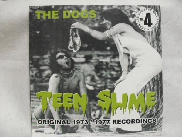 the dogs teen slime punk LP record