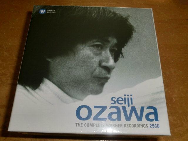 小澤征爾ワーナー録音集、SEIJI OZAWA THE COMPLETE WARNER RECORDINGS 25CD