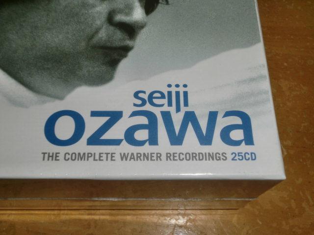 小澤征爾ワーナー録音集、SEIJI OZAWA THE COMPLETE WARNER RECORDINGS 25CD_画像2