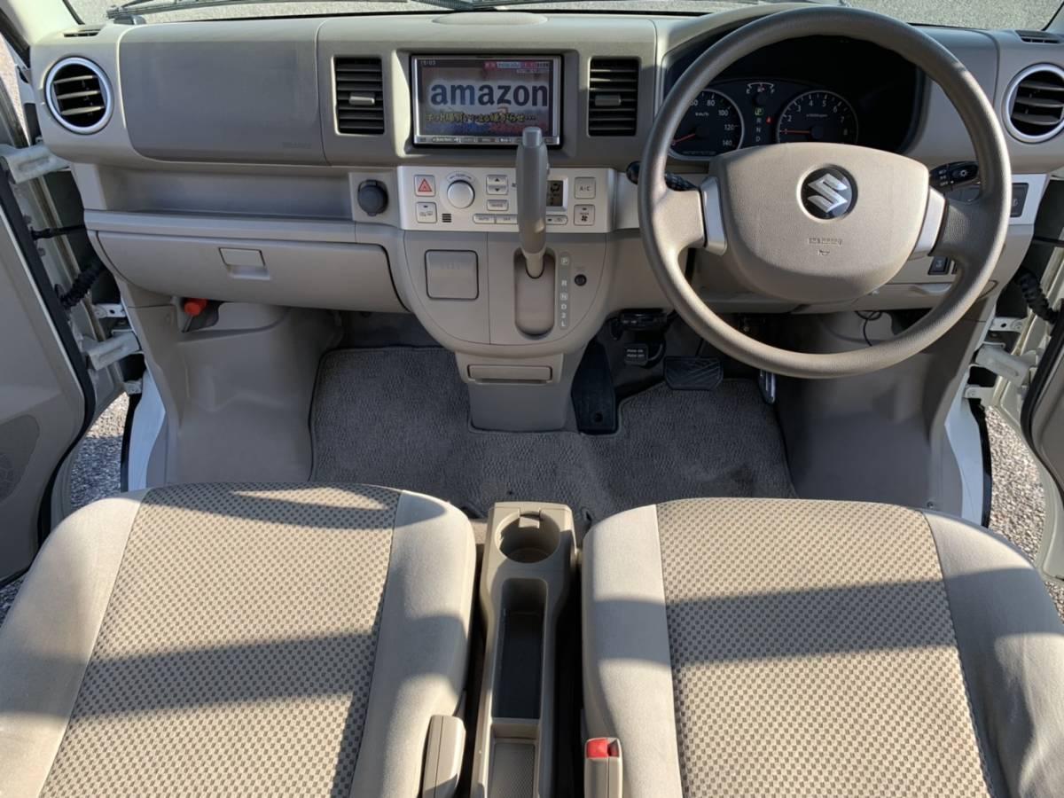 売切!24年後期エブリィワゴン PZターボ スペシャル両側電動スライド オートステップ 車検32年9月まで_画像8