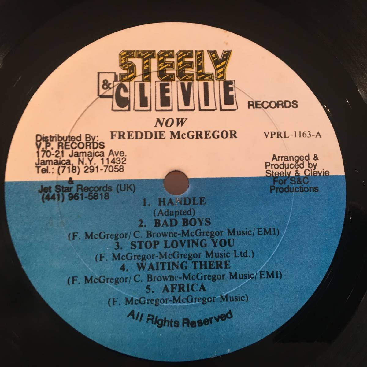 ★Freddie McGregor/Now★SOUL SYNDICATE名曲カバー!_画像3