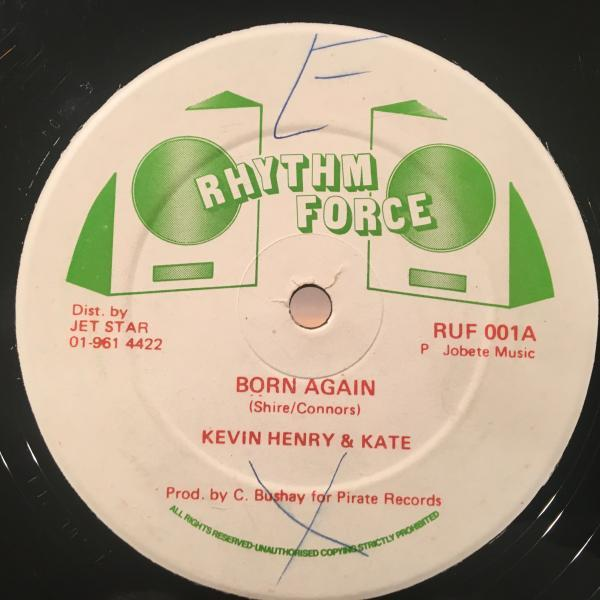 ★Kevin Henry & Kate/Born Again★切ないDuet LOVERS ROCK!