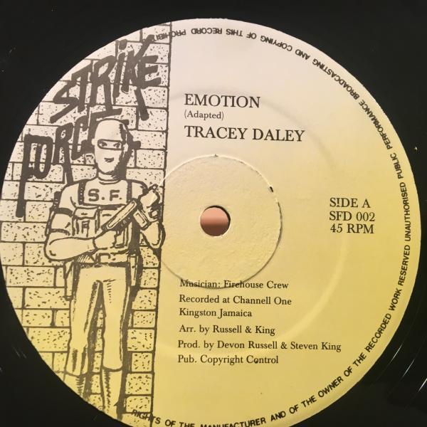 ★Tracey Daley/Emotion★超マイナーEMOTIONSカバー!_画像1