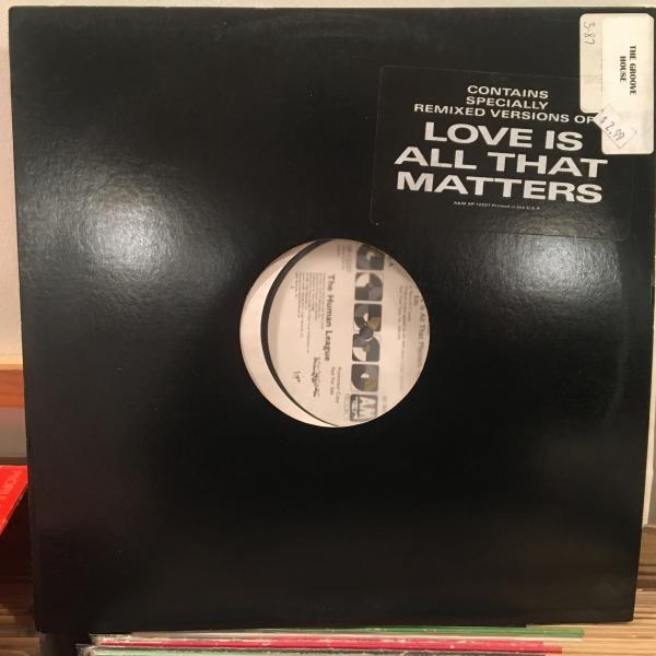 ☆Human League/Love Is All That Matters☆SYNTH POP名作!_画像3