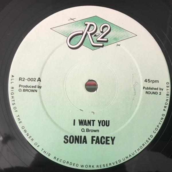 ★Sonia Facey/I Want You★マイナーLOVERS隠れ名作!_画像1