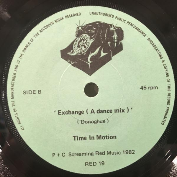 ☆Time In Motion/I Want To Be Your Telephon☆ODDBALL NEW WAVE DISCO!7inch 45_画像3