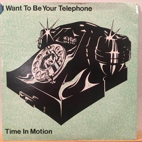 ☆Time In Motion/I Want To Be Your Telephon☆ODDBALL NEW WAVE DISCO!7inch 45_画像1