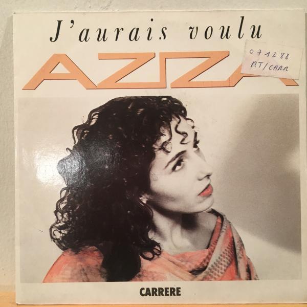 ☆Aziza/J'Aurais Voalu☆フレンチ・アラビアンSYNTH POP!7inch 45_画像1