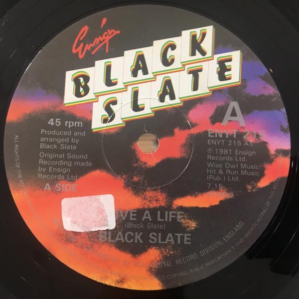 ★Black Slate/Live A Life★KILLER UK ROOTS!名曲!_画像1