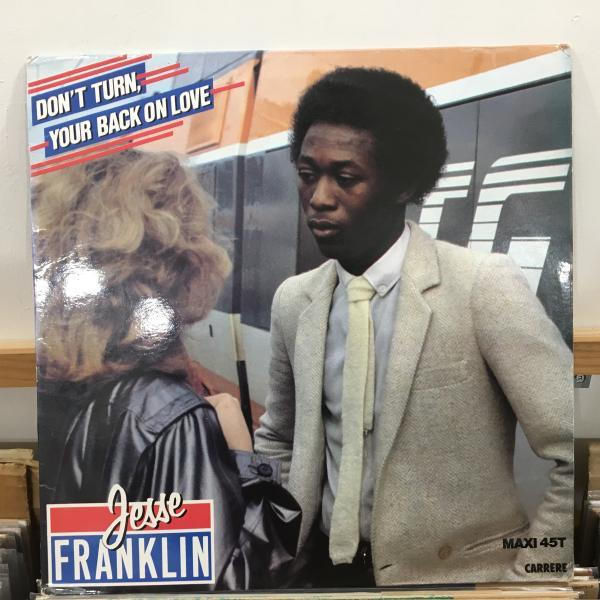 ☆Jesse Franklin/Don't Turn, Your Back On Love☆FRENCH MODERN SOUL/BOOGIE!_画像1