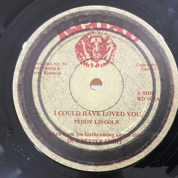 ★Teddy Lincoln/I Could Have Loved You★メロウLOVERS名作!_画像1