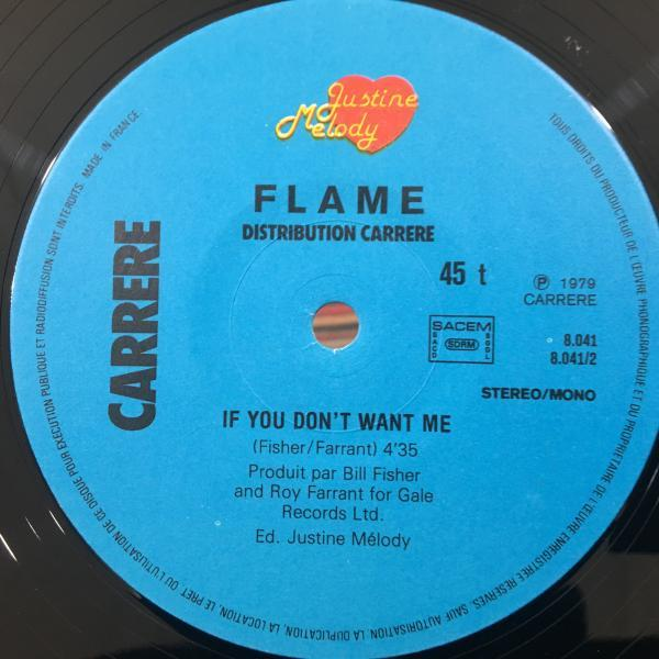 ☆Flame/Shoe Shine☆AOR BOOGIE!Jim Capaldi!仏のみ12!_画像2