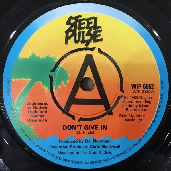 ★Steel Pulse/Don't Give In★KILLER UK ROOTS!7inch 45_画像1