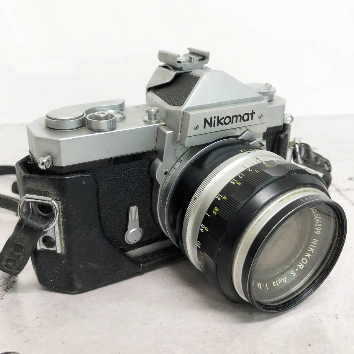 ニコン ニコマット カメラ 5台セット(ニコマット×2台・ニコンF・ニコン F-401)動作未確認 ジャンク品_画像2
