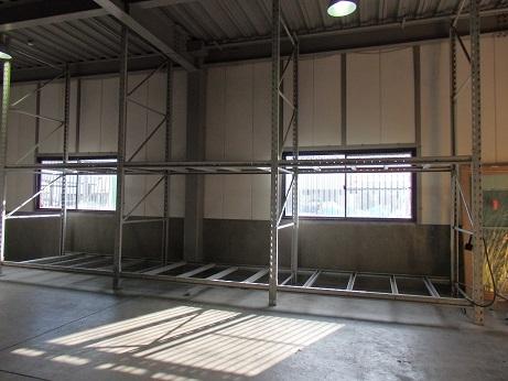 姫路 3連結 パレット ラック 重量棚 W790 内寸250 D150 H450 引取希望_画像2