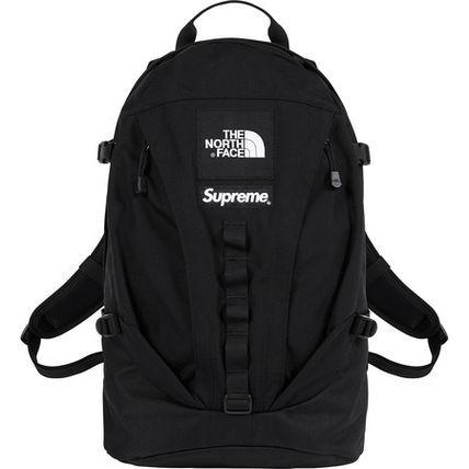 【送料無料】新品 18FW Supreme The North Face Expedition Backpack Black シュプリーム ノースフェイス バックパック 黒