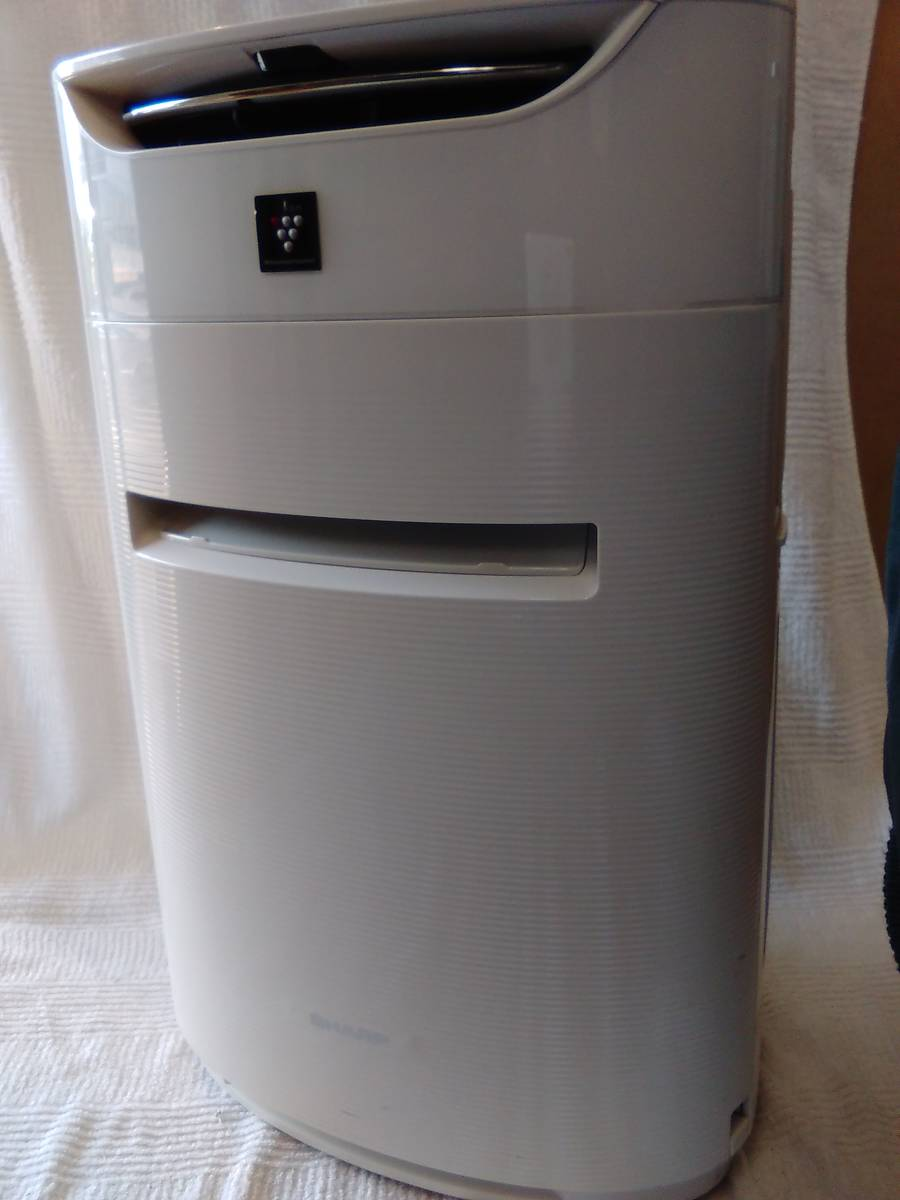 A01245★ シャープ★花粉対策  加湿空気清浄機 プラズマクラスター25000搭載  KI-DX50-W  ホワイト  14畳 KI-DX50-W SHARP_画像3