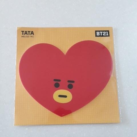 BT21 TATA マウスパッド_画像1