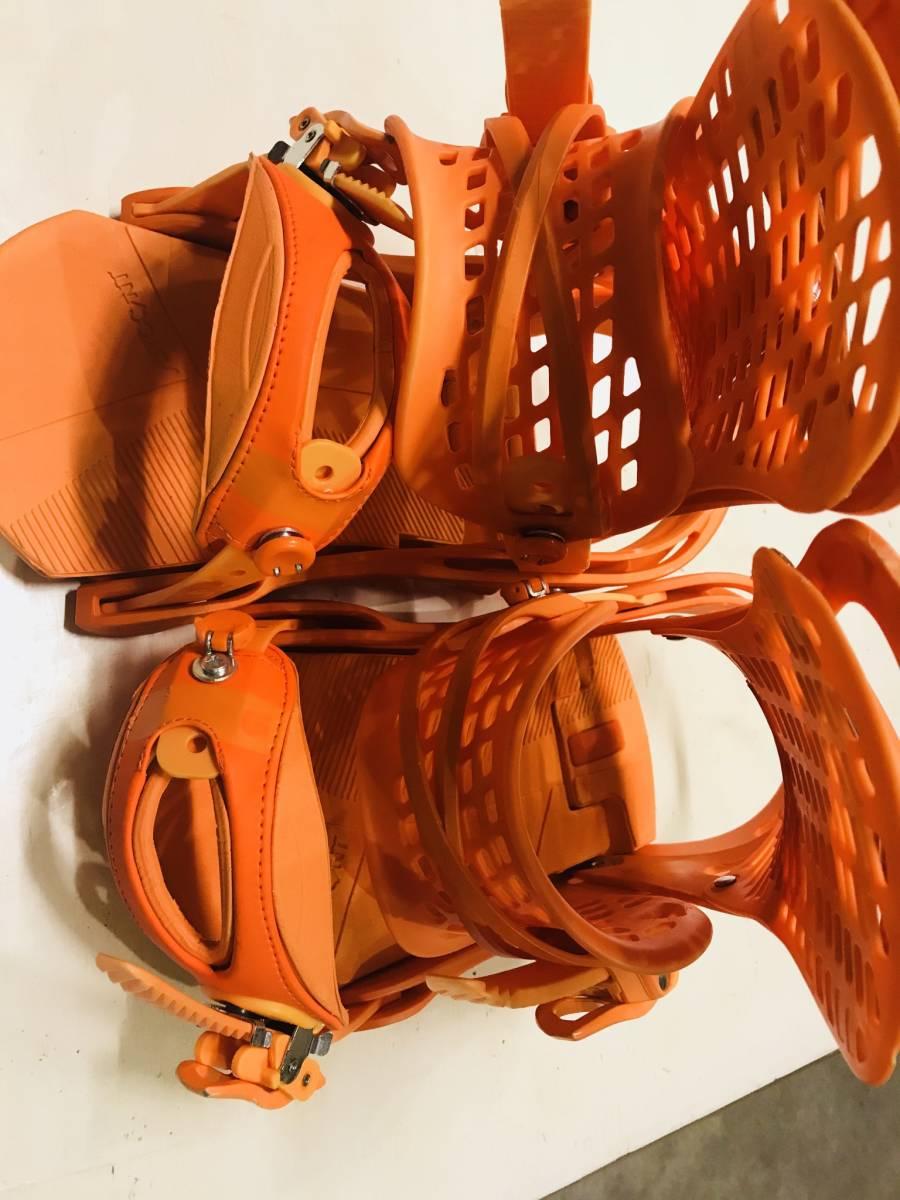 バートン ジェネシス オレンジ ビンディング バインディング ストラップ M_画像3