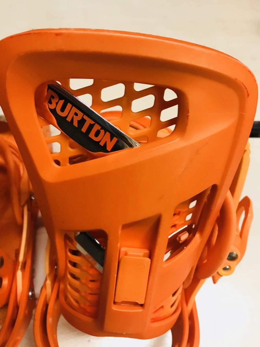 バートン ジェネシス オレンジ ビンディング バインディング ストラップ M_画像5