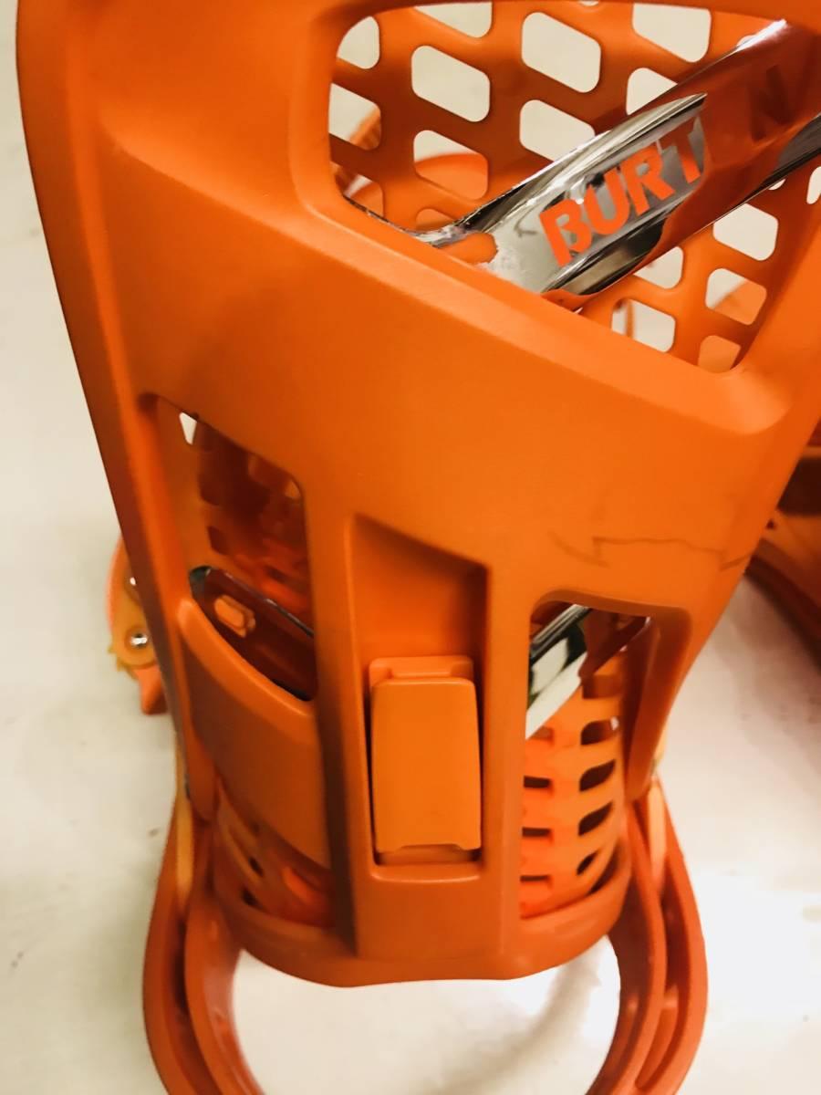 バートン ジェネシス オレンジ ビンディング バインディング ストラップ M_画像9