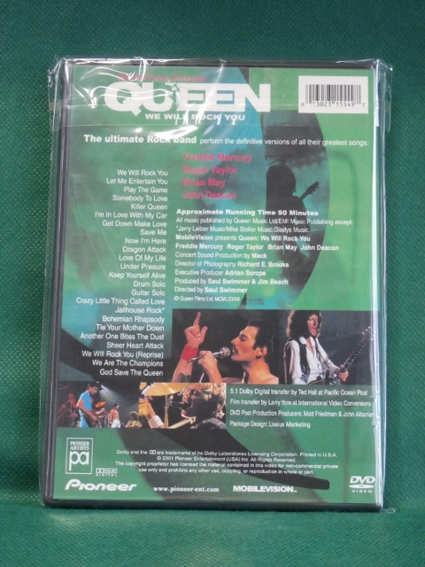 QUEEN クイーン / WE WILL ROCK YOU  (高画質・高音質)  US輸入盤  _画像3