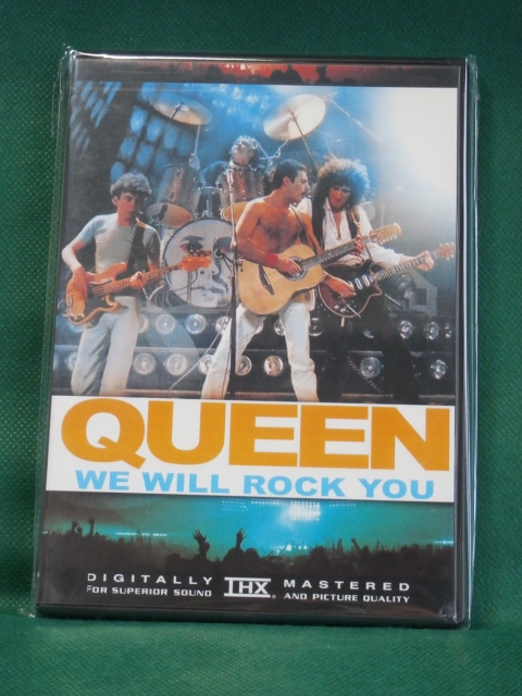 QUEEN クイーン / WE WILL ROCK YOU  (高画質・高音質)  US輸入盤