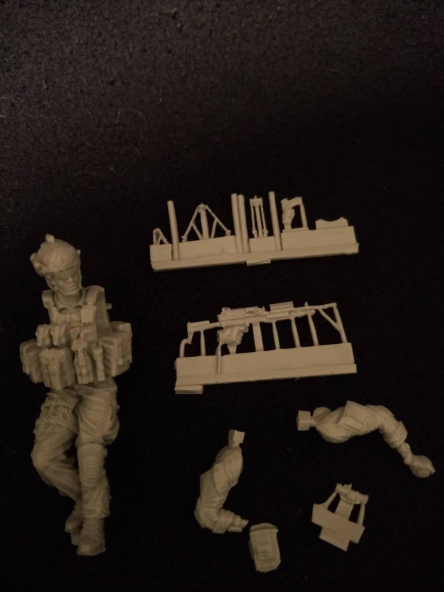 ホビークリエーション Hobby Creation 1/35 現代陸軍シール突撃チーム兵I 18_画像3
