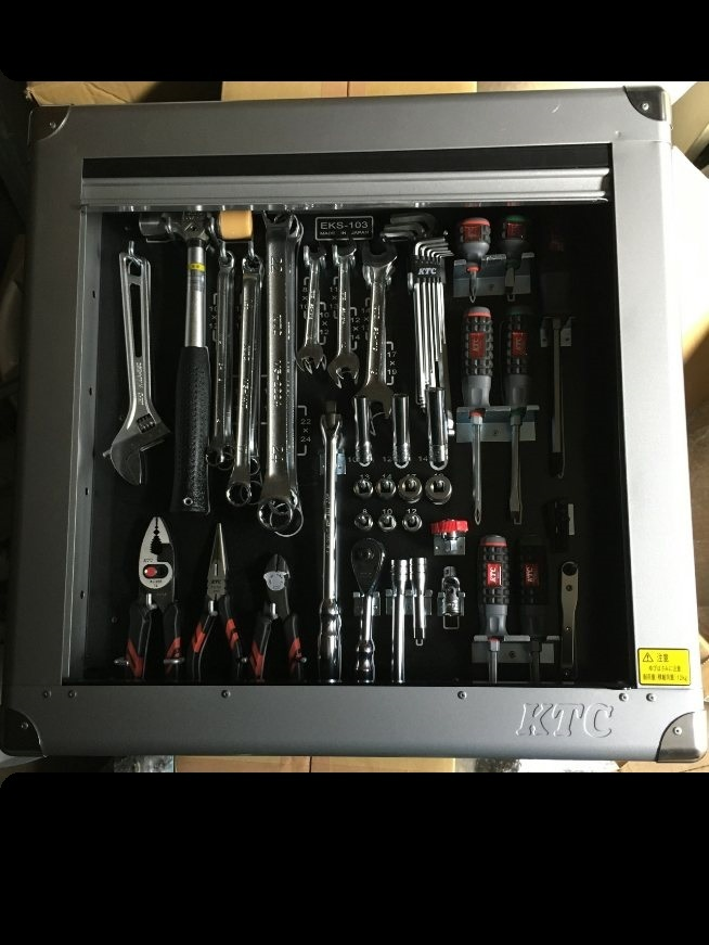 KTC EKS-103 壁掛けタイプ ツールセット 工具 新品 _画像1