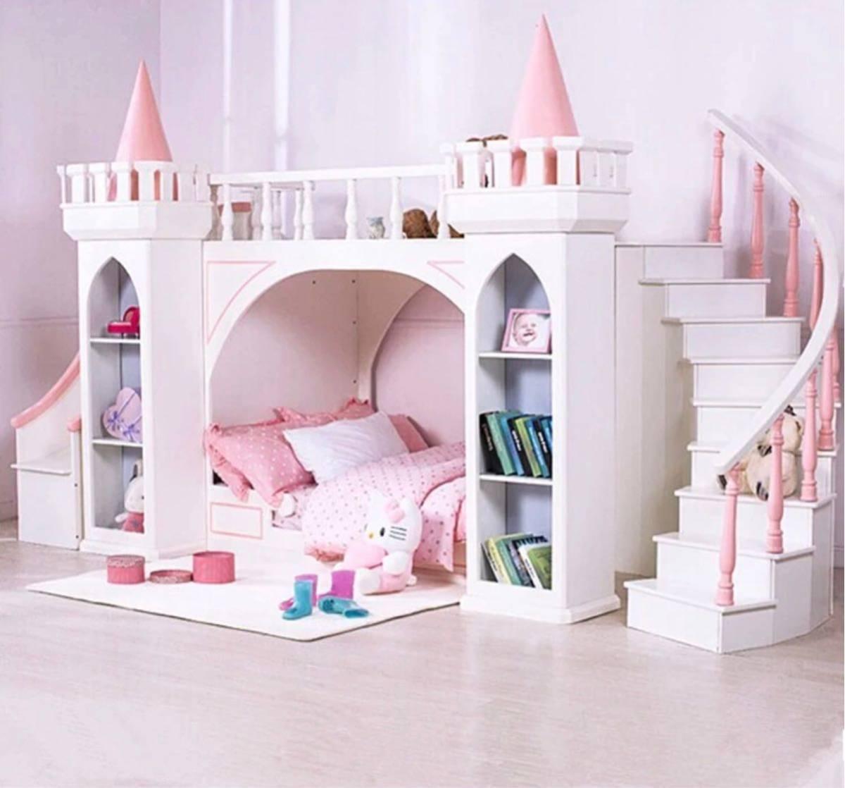 残り1台!送料無料!木製.子供ベッド木材二段ベッドはしごキャビネットスライダー_画像7