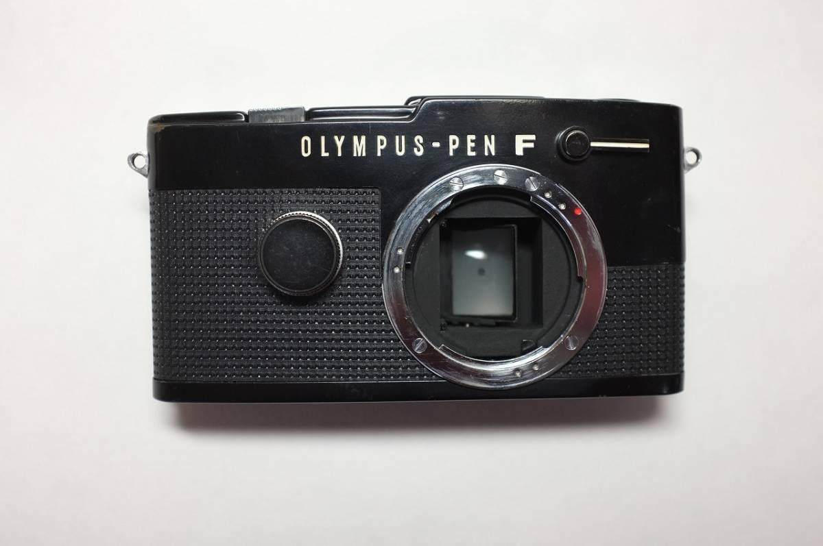 OLYMPUS-PEN FT オリンパスペンFT ブラック O/H済 ハーフミラー交換_画像2