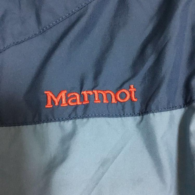 marmot MJJ F0002 ナイロンジャケット パーカー ウィンドブレーカー マーモット トレッキング 登山 アウトドア_画像9
