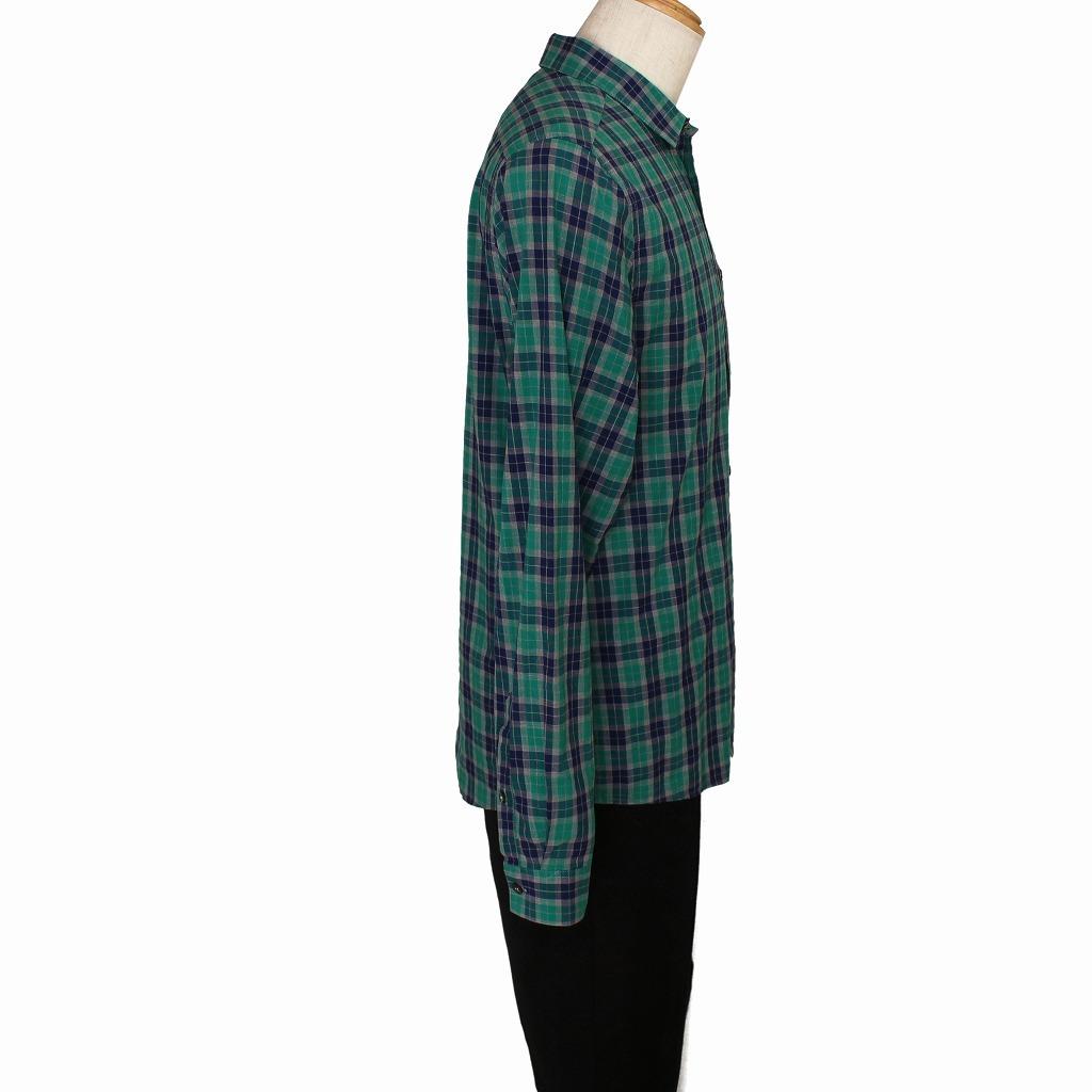 チェック シャツ 長袖 メンズ US Mサイズ H&M 古着 美品 送料込み_画像4