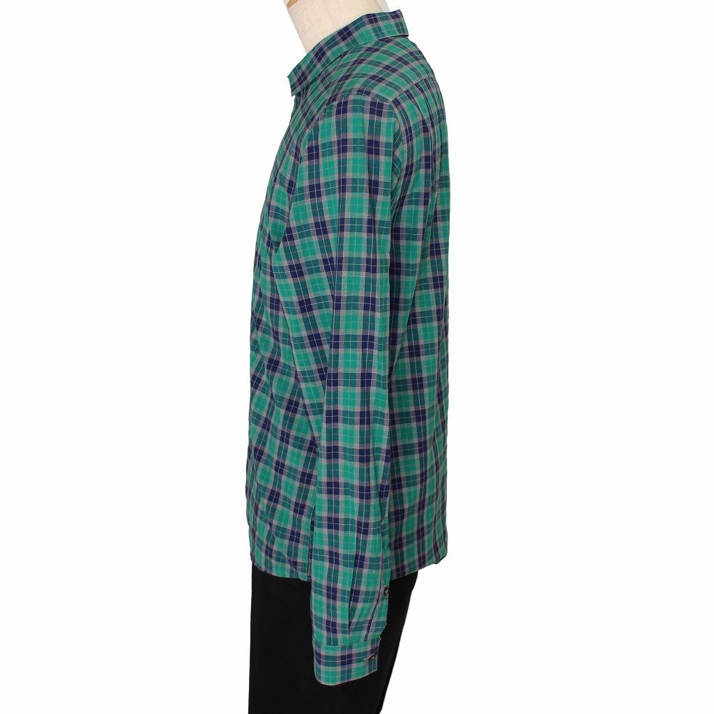 チェック シャツ 長袖 メンズ US Mサイズ H&M 古着 美品 送料込み_画像2