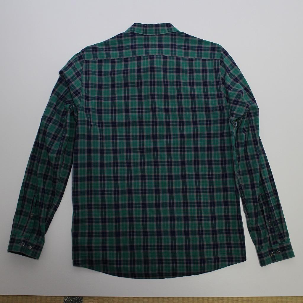チェック シャツ 長袖 メンズ US Mサイズ H&M 古着 美品 送料込み_画像10